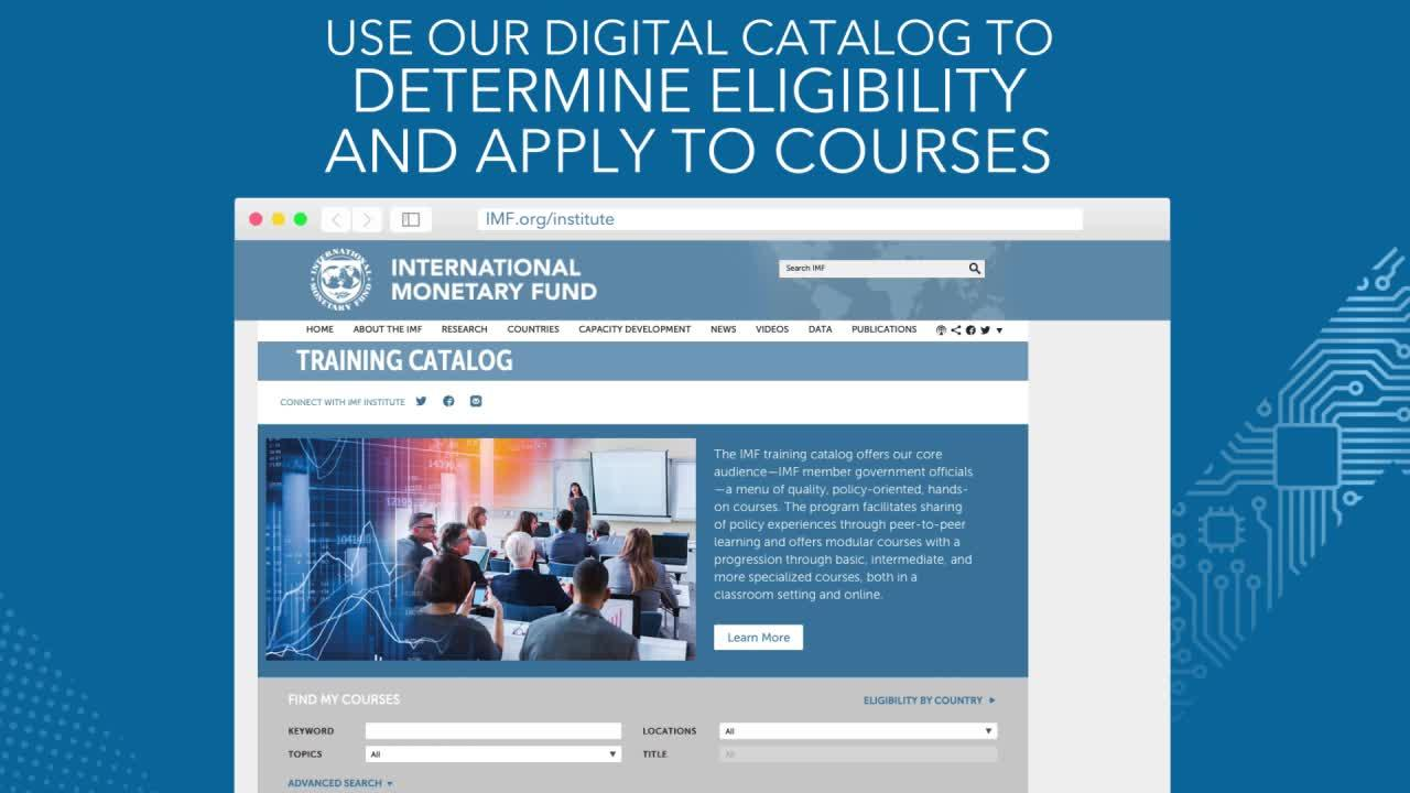 Digital Training Catalog