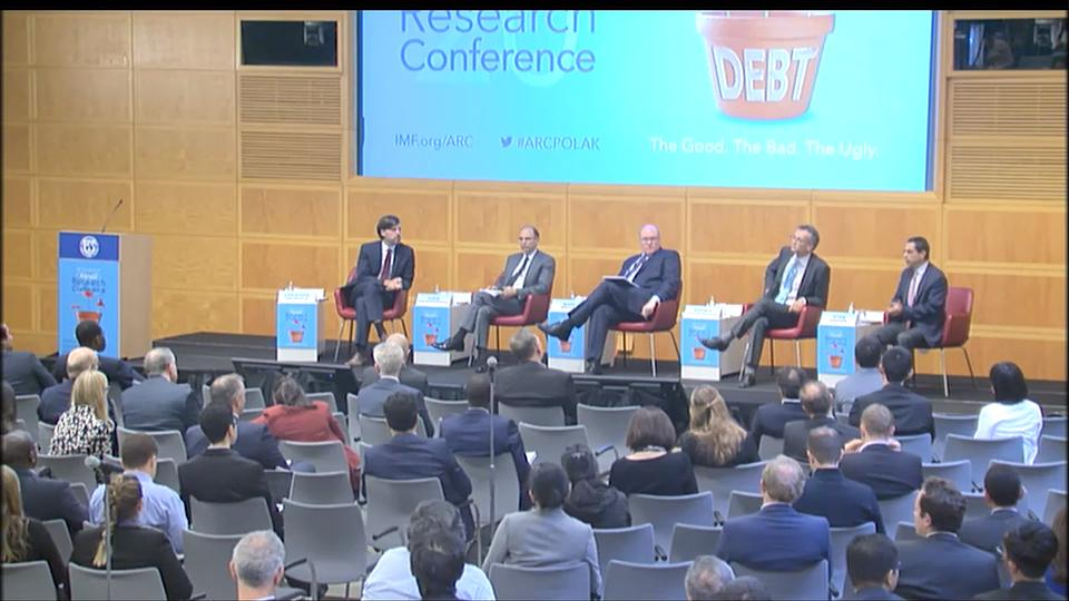 2019 IMF Annual Research Conference: Session 1 - Measuring Debt