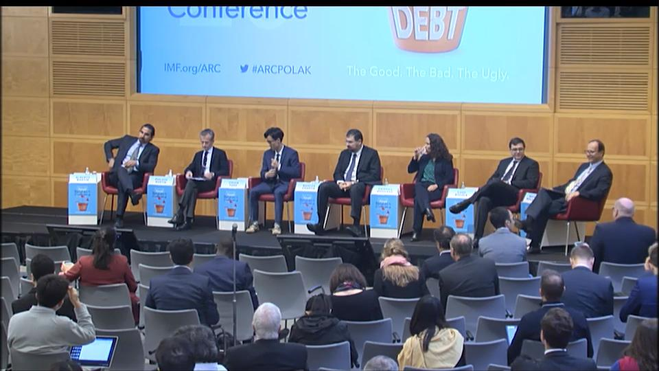 2019 IMF Annual Research Conference: Session 2 - Sovereign Debt
