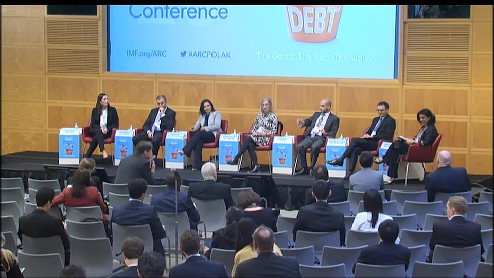 2019 IMF Annual Research Conference: Session 3 - Exchange Rates and Corporate Debt