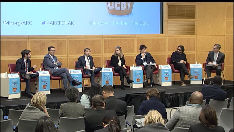 2019 IMF Annual Research Conference: Session 5 - Credit, Monetary Policy, and Financial Regulation