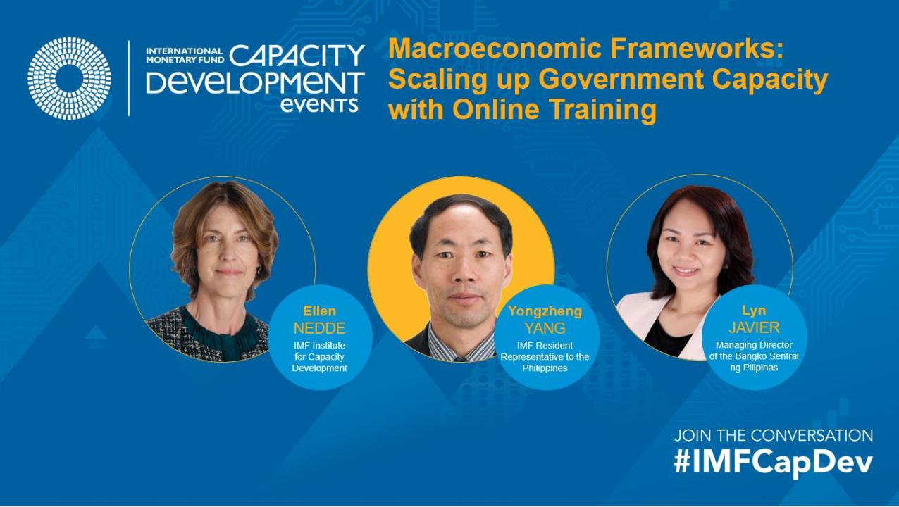 Macroeconomic Frameworks: Scaling up Government Capacity with Online Training