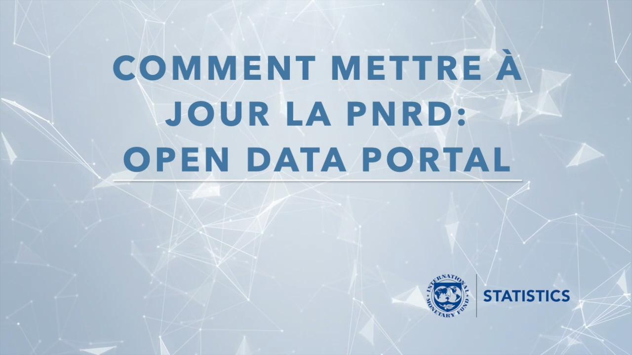 Online Help with Uploading Data on Open Data Portal (French)