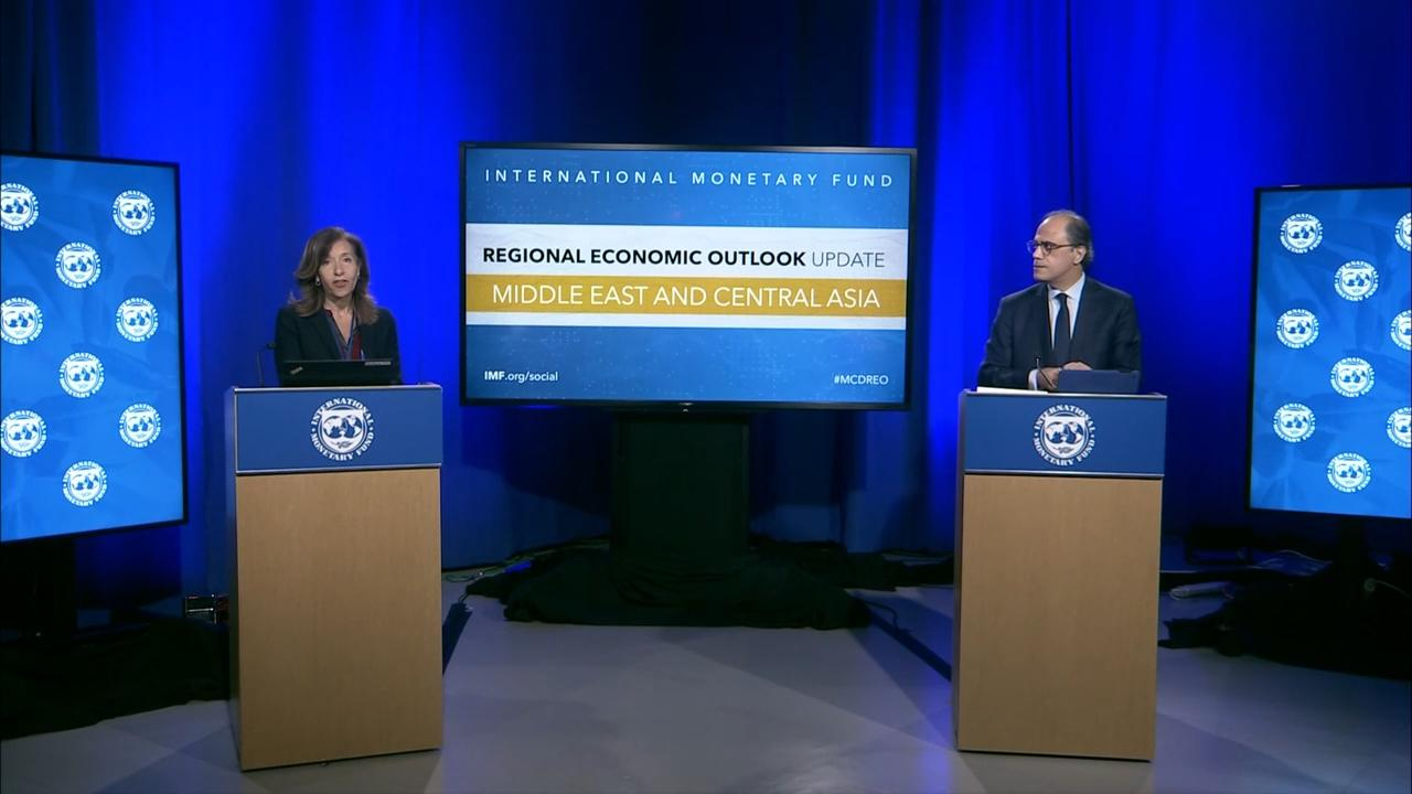 Regional Economic Outlook Update: Middle East and Central Asia