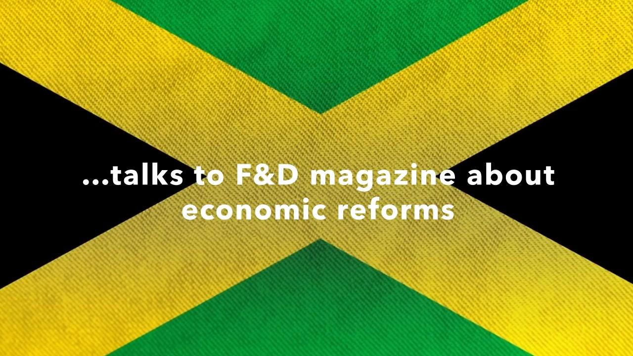 Former Bank of Jamaica Governor Brian Wynter interviewed in the IMF's F&D Magazine – Fall 2020