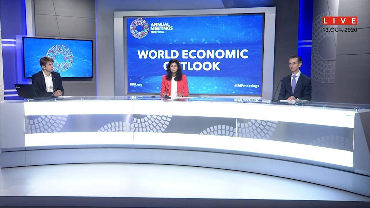 French - Press Briefing: World Economic Outlook October 2020