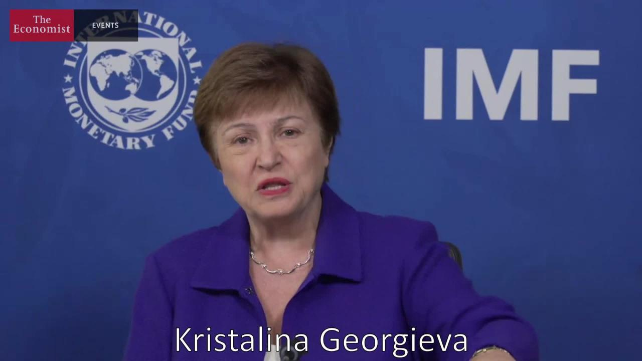 Economist Sustainability Week Interview with Kristalina Georgieva