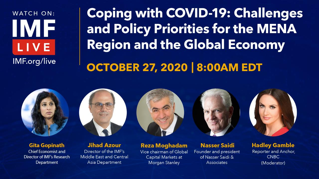 Coping with COVID-19: Challenges and Policy Priorities for the MENA Region and the Global Economy