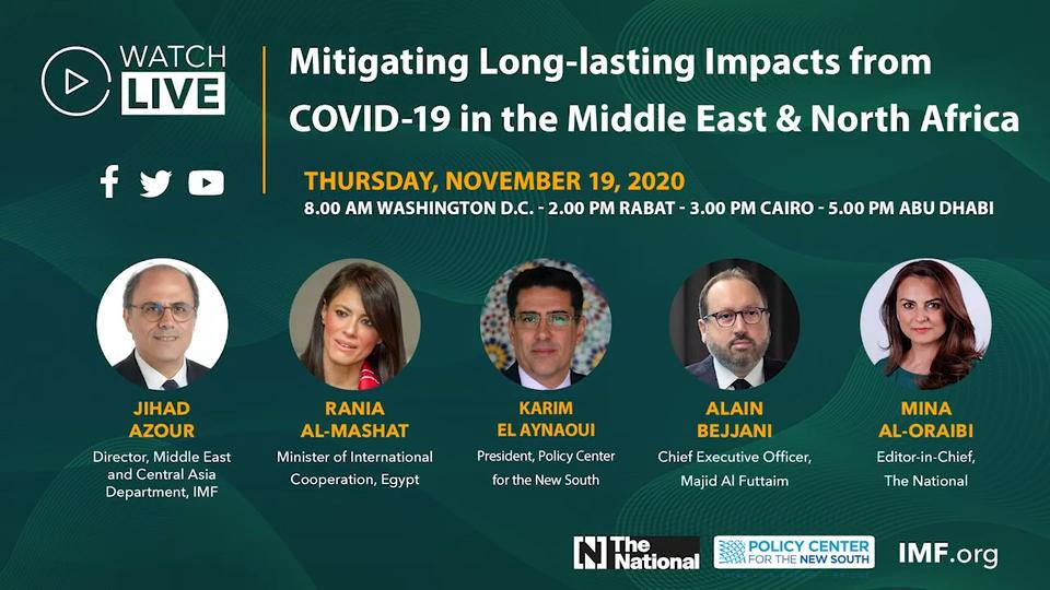 Arabic - Mitigating the Long Lasting Economic Impacts from COVID-19 in the Middle East and North Africa