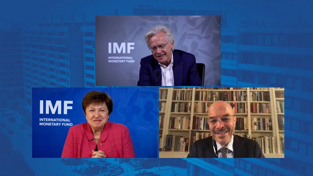 One-on-one Discussion Between Ian Goldin and IMF Managing Director Kristalina Georgieva