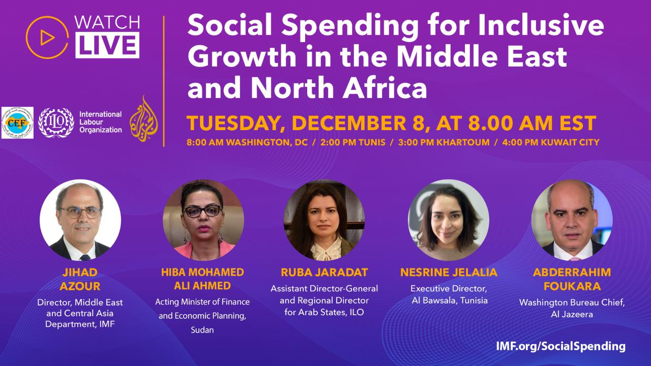 Social Spending for Inclusive Growth in the Middle East and North Africa