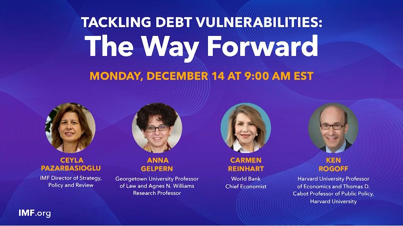 Tackling Debt Vulnerabilities: The Way Forward