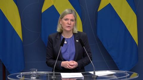 Digital Press Conference with Magdalena Andersson and Kristalina Georgieva