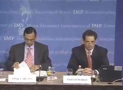 Press Briefing on Lessons of the Financial Crisis, IMF