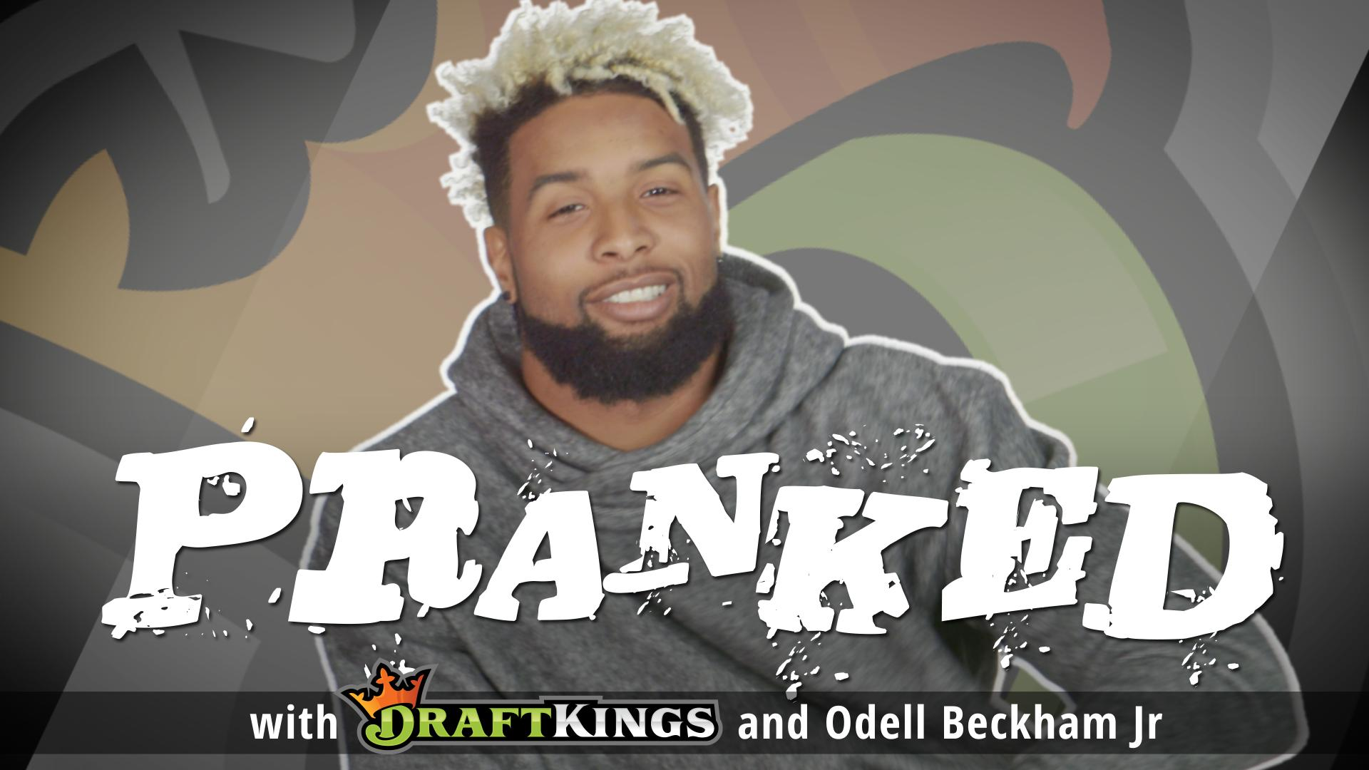Dktv pranked fake injury freakout with odell beckham jr pranked fake injury freakout with odell beckham jr m4hsunfo
