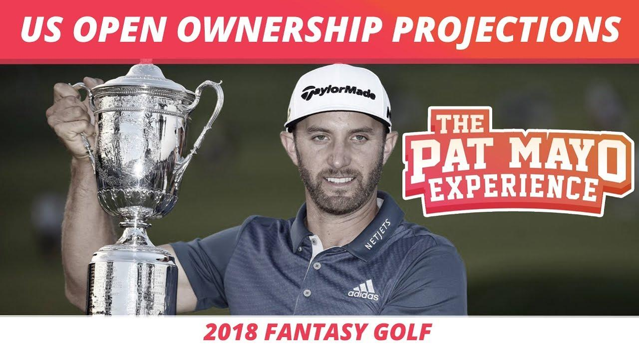 2018 Fantasy Golf Picks Us Open Draftkings Millionaire Maker Ownership Projections And Pivot Plays