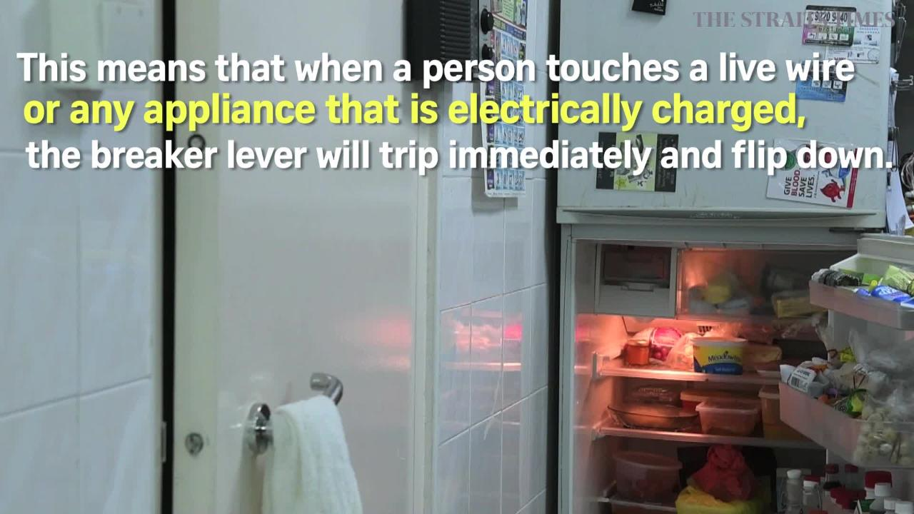 Circuit breaker can save you from electrocution, Singapore News ...