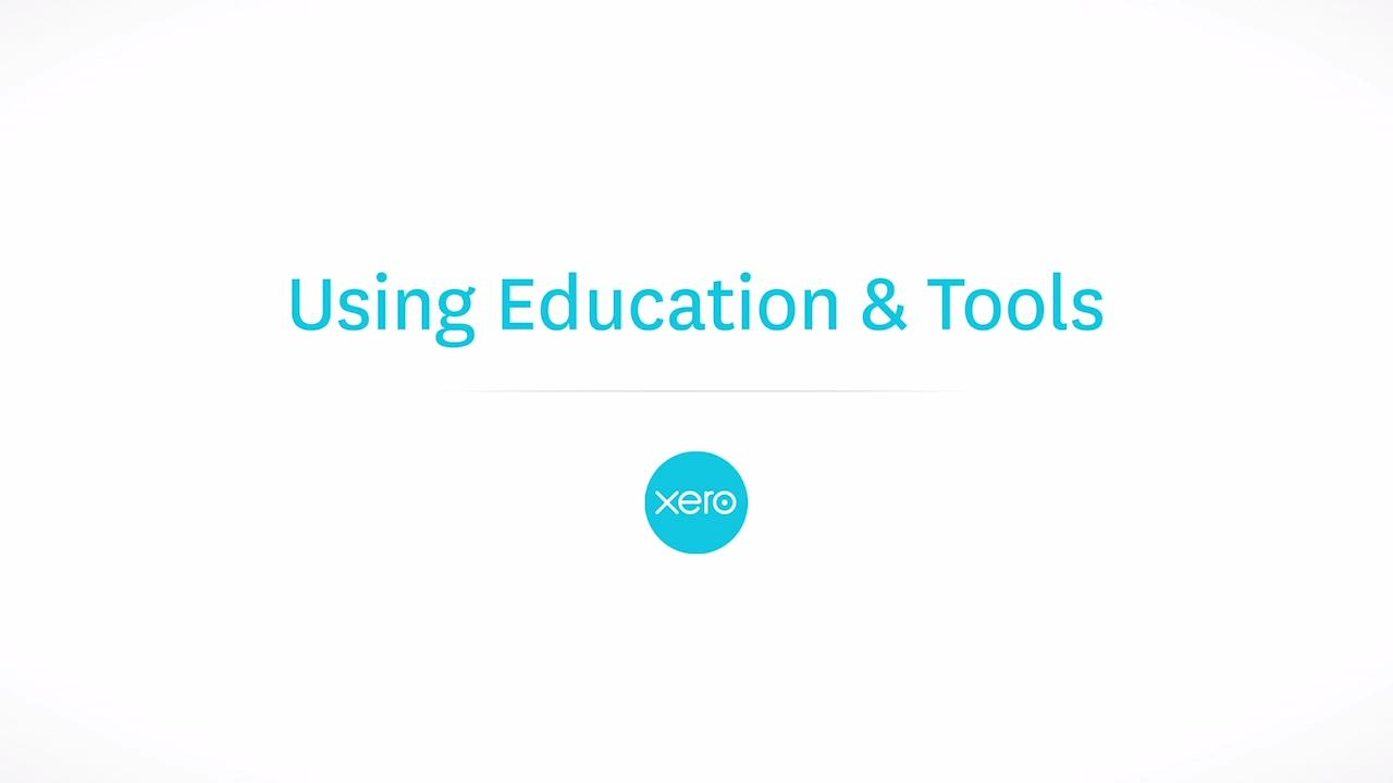 My xero for partners using education tools featured xero tv 1betcityfo Gallery