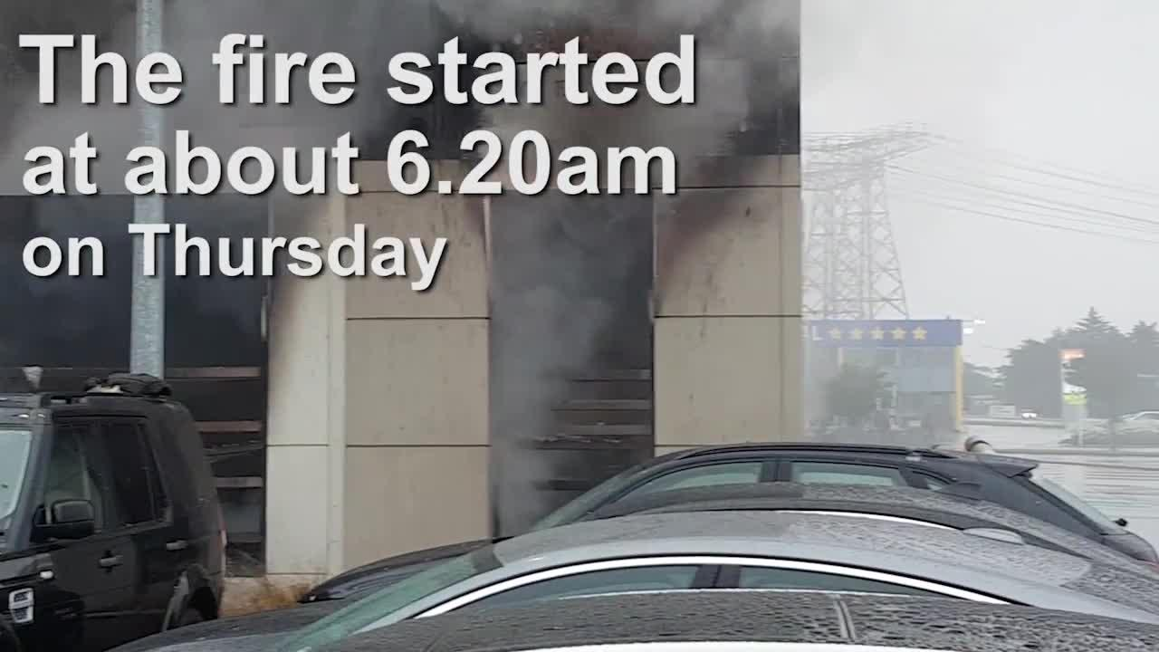 Watch: Building suffers major damage after fire - Star kiwi