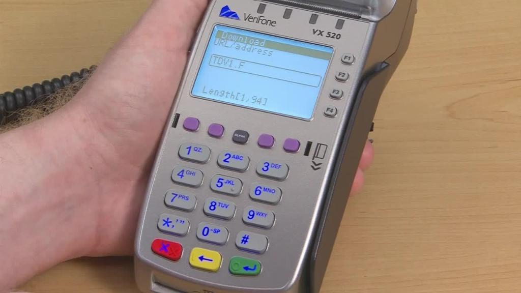 EMV: Getting up and running - Terminal download via internet