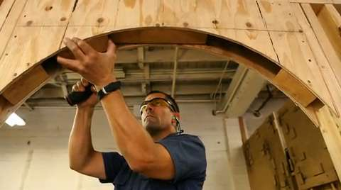 Building Skills: How To Build An Arched Rough Opening   Fine Homebuilding