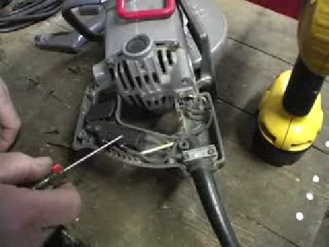Replacing a Circular-Saw Switch and Cord - Fine Homebuilding on