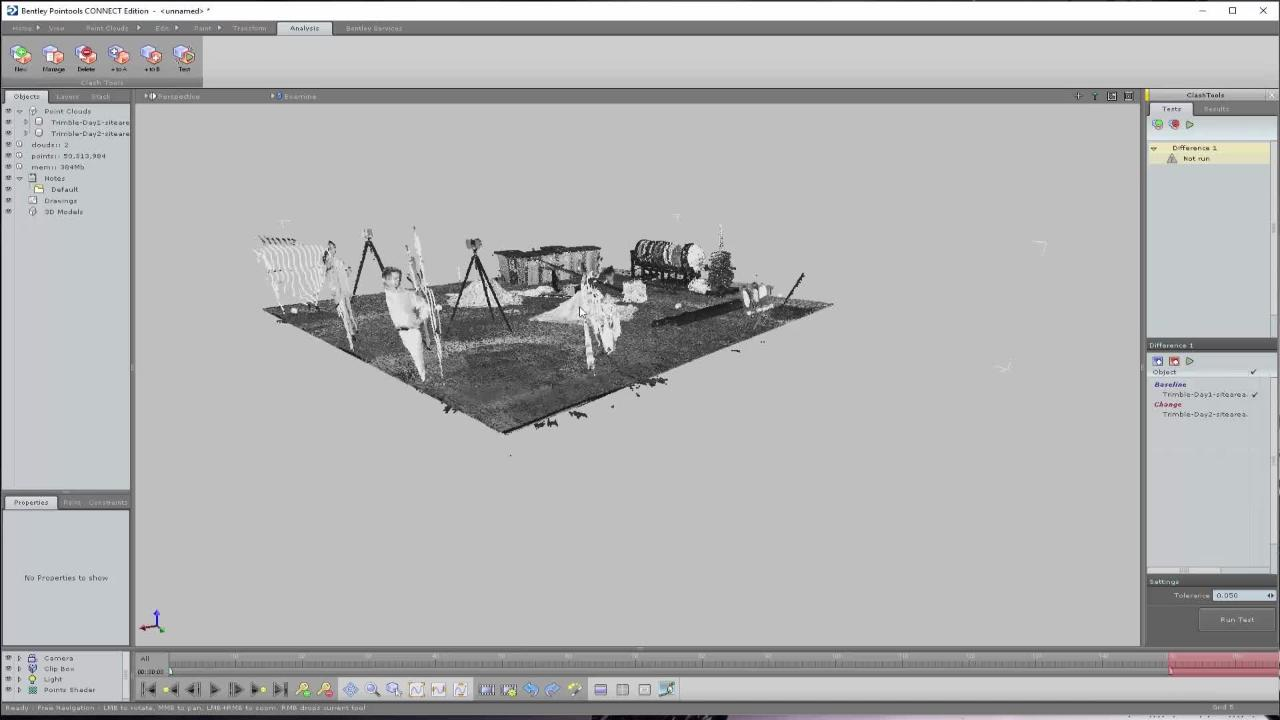 Pointools - Point cloud processing and visualization software