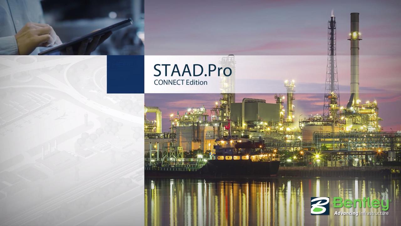 3D Structural Analysis and Design Software - STAAD Pro