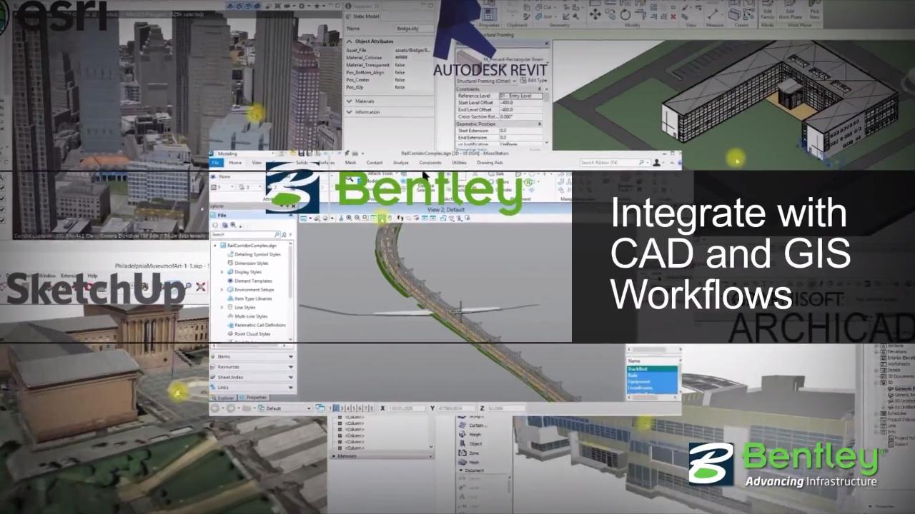 Visualization Software for Infrastructure Projects - Bentley LumenRT