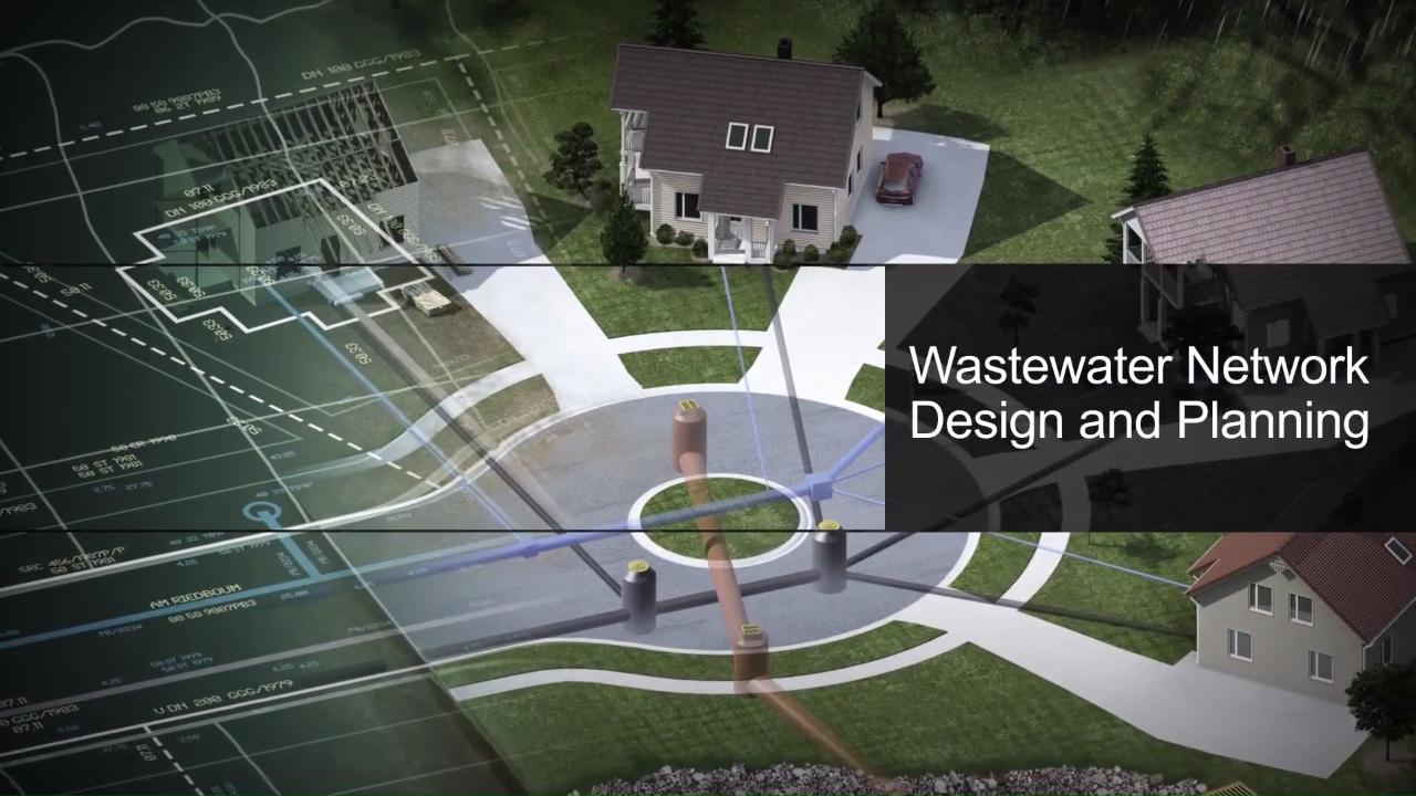 Wastewater Network Planning and Design Software