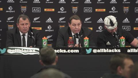 Steve Hansen Doesn't Want To Talk About It