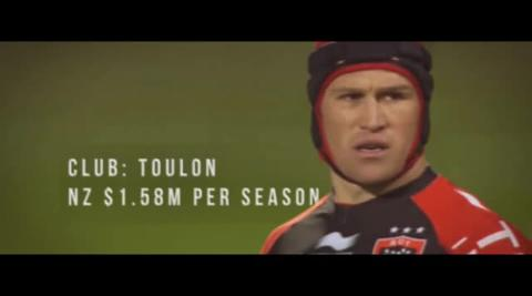 Top five richest rugby players of 2017
