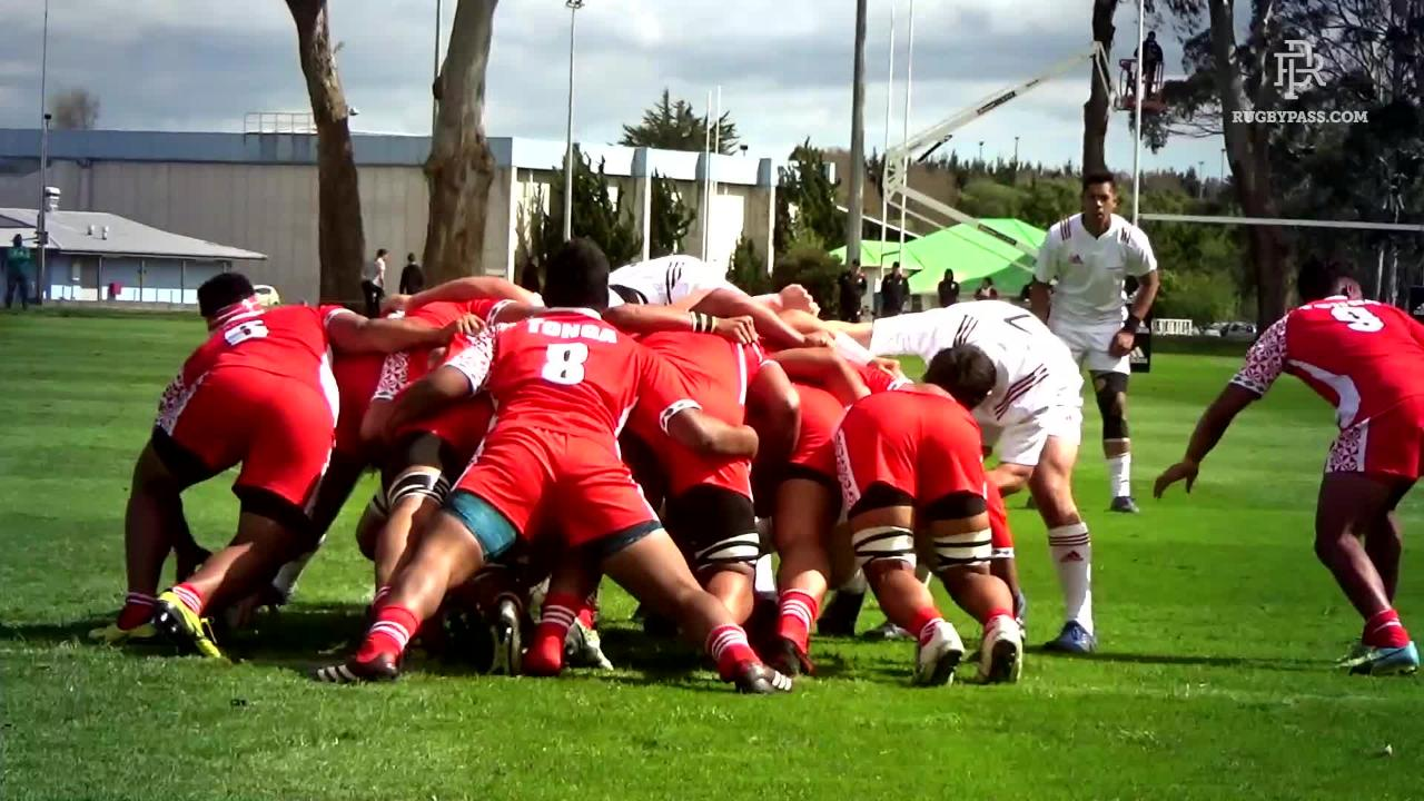 NZ Barbarians vs Tonga Schools Highlights
