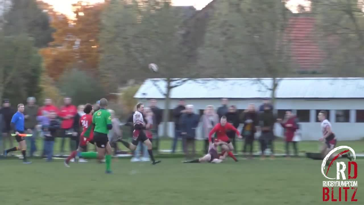 RD Blitz - Mechelen late 80m try