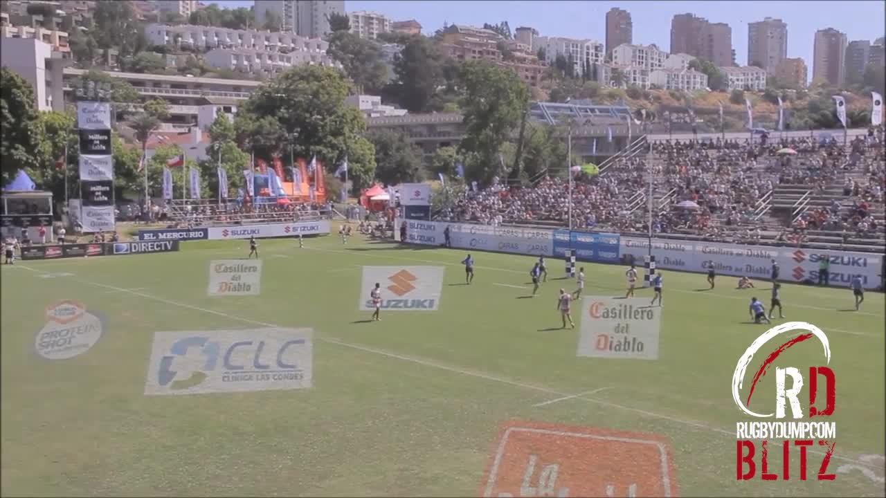 RD Blitz - Amazing 7s try in Uruguay