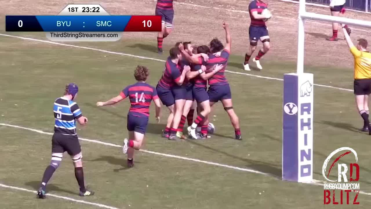 RD Blitz - SMC brilliant team try