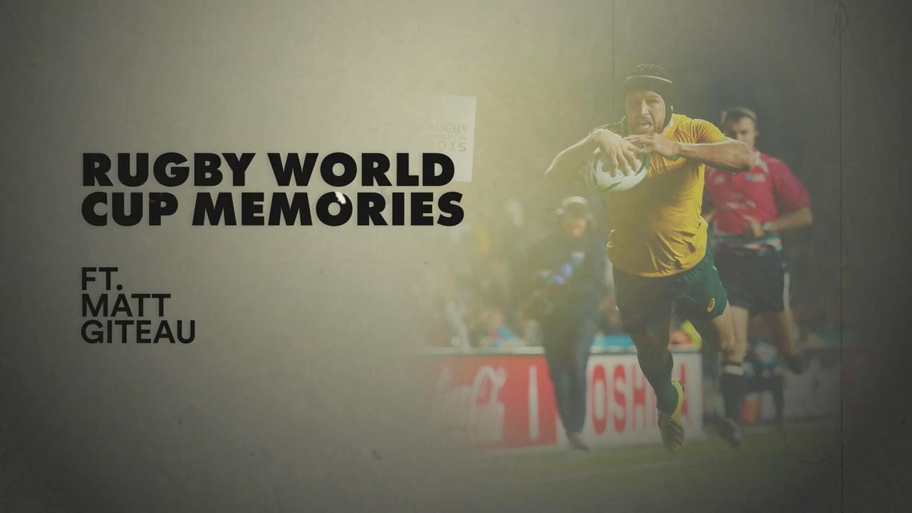 Matt Giteau | RWC memories