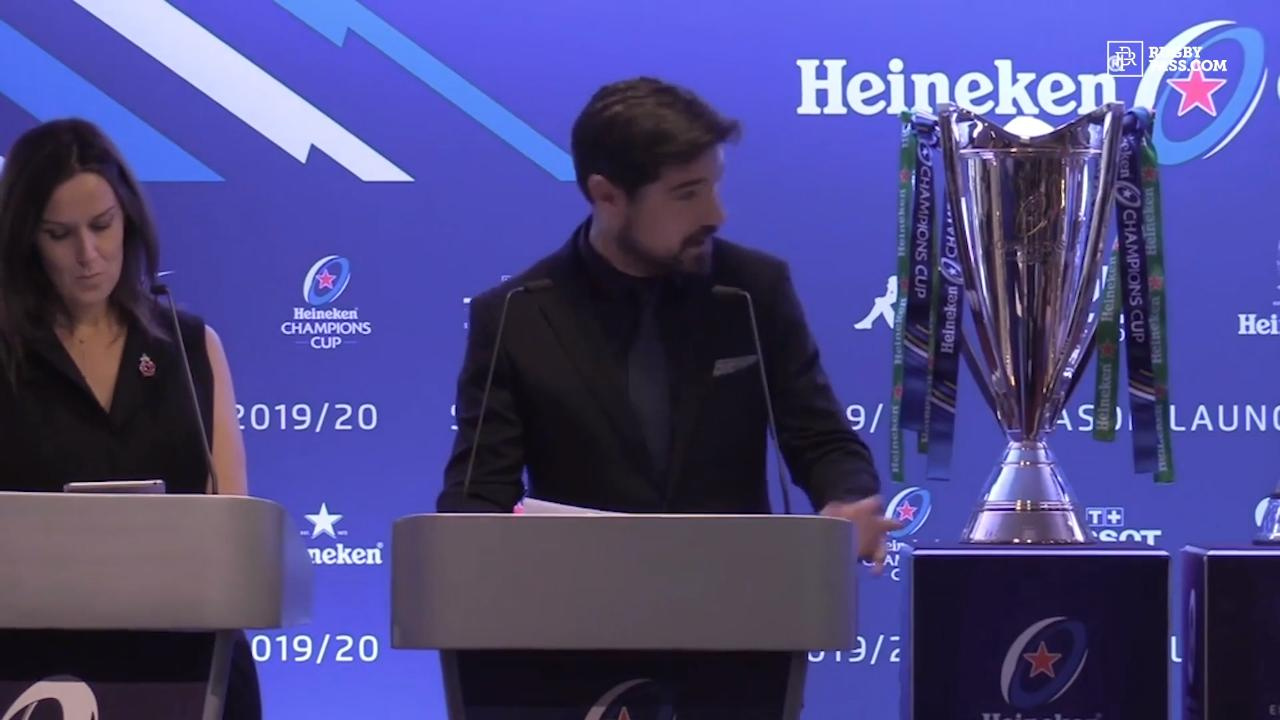 Heineken Champions Cup launch | 19/20 Season
