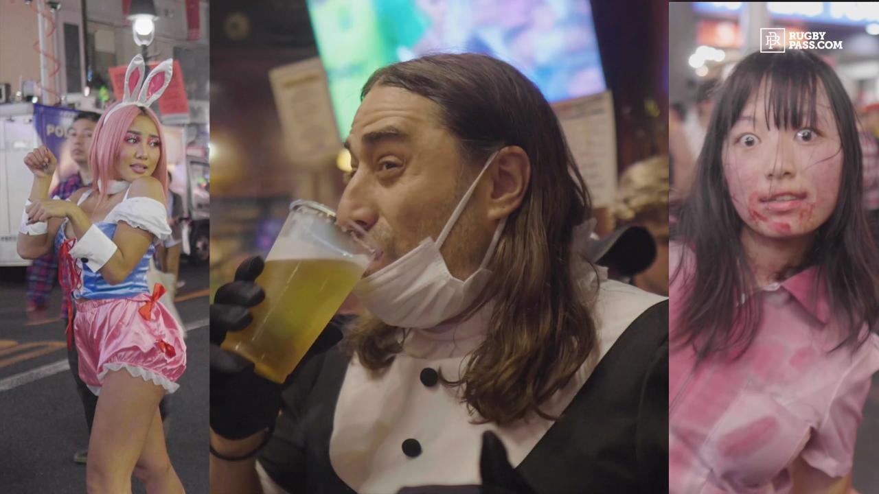 Halloween in Tokyo | Sam Smith Reports | Rugby World Cup 2019
