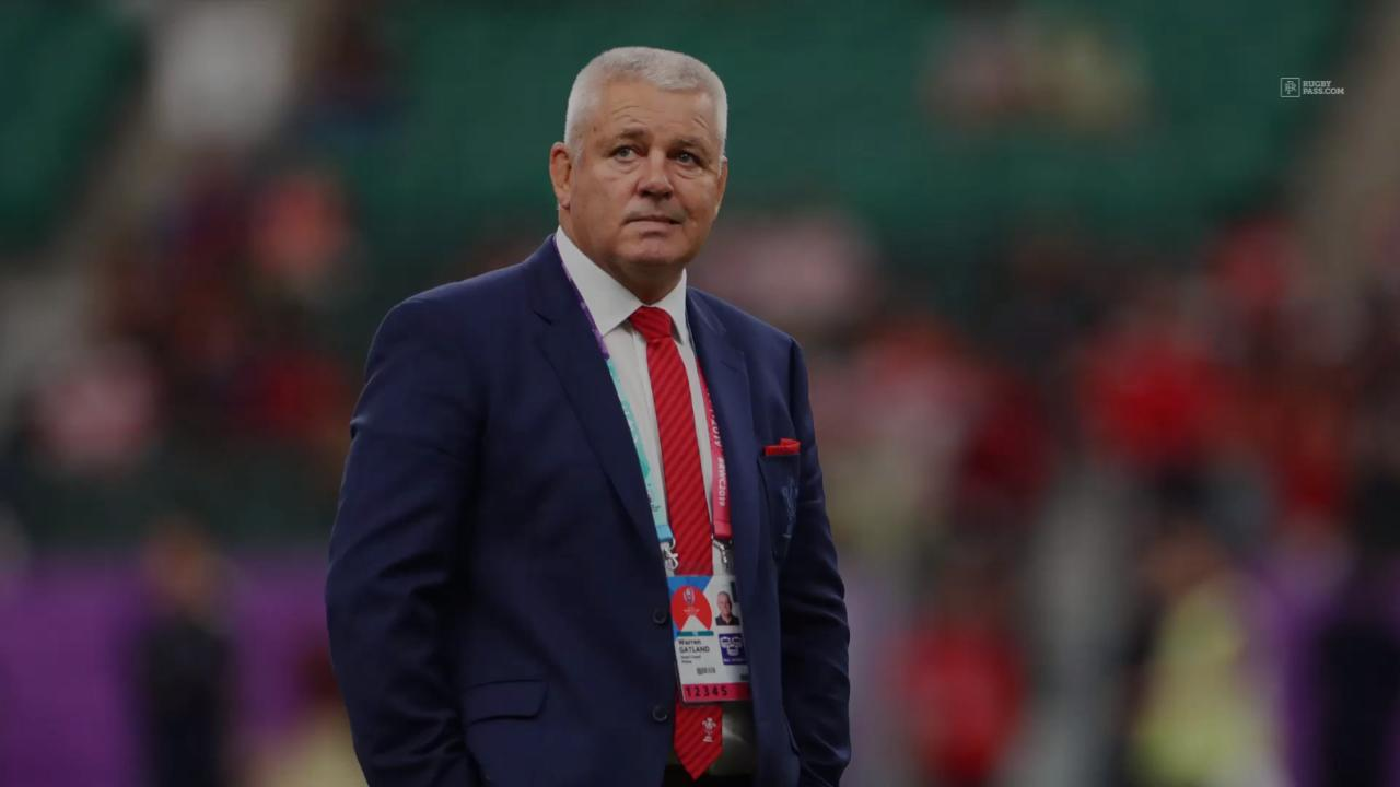 Gatland suspected player of doping