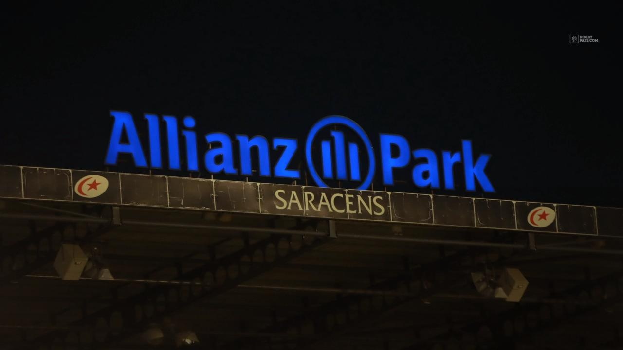 Saracens on brink of relegation