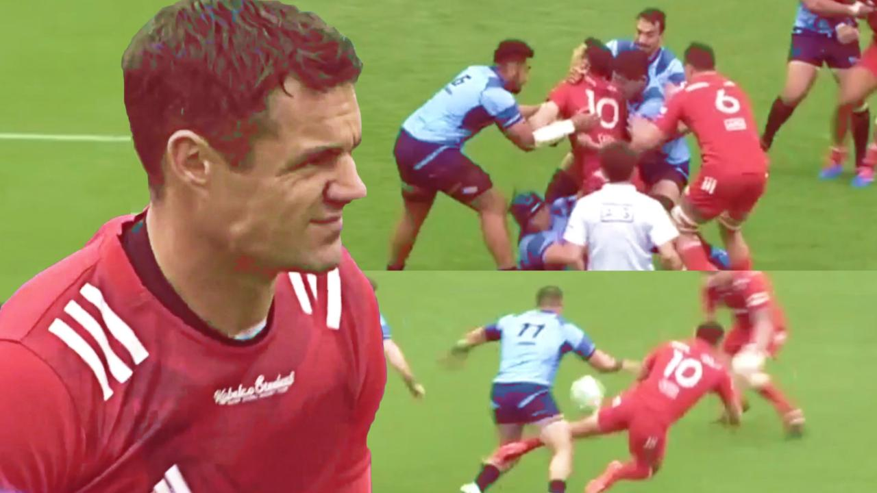 Yamaha unleash ferocious defence on Dan Carter but the former All Black has the last laugh