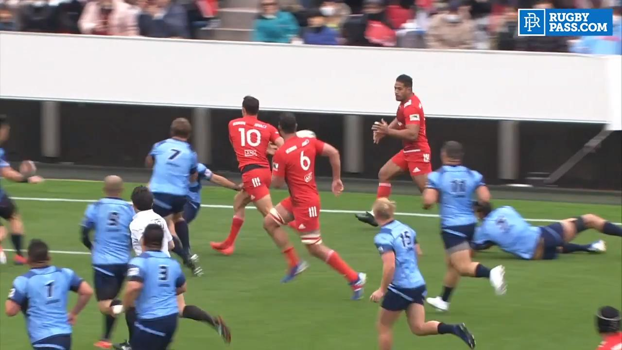 Japan Top League | Round 2 Highlights