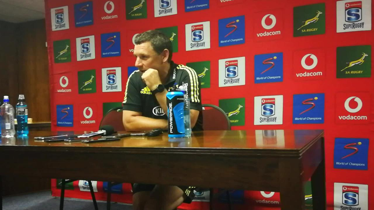 Hurricanes coach Jason Holland after his team's horror show at Newlands
