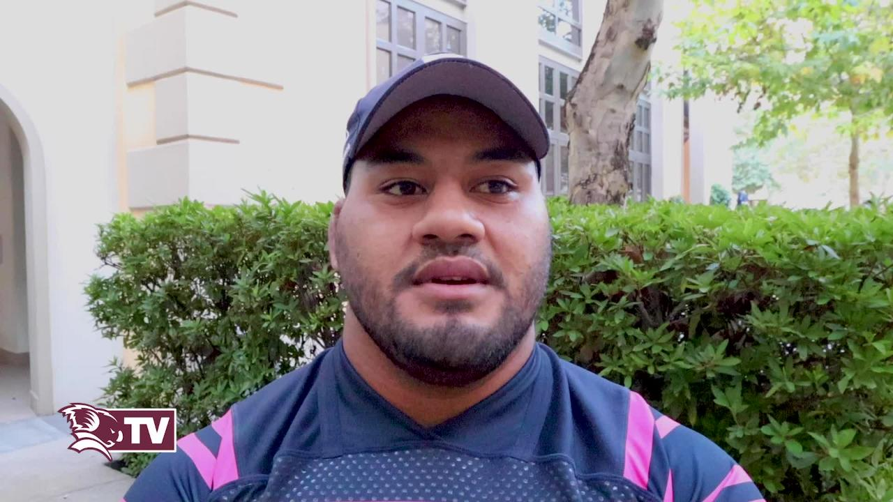 Tongan Thor Taniela Tupou on the Reds' Round 2 clash against the Lions