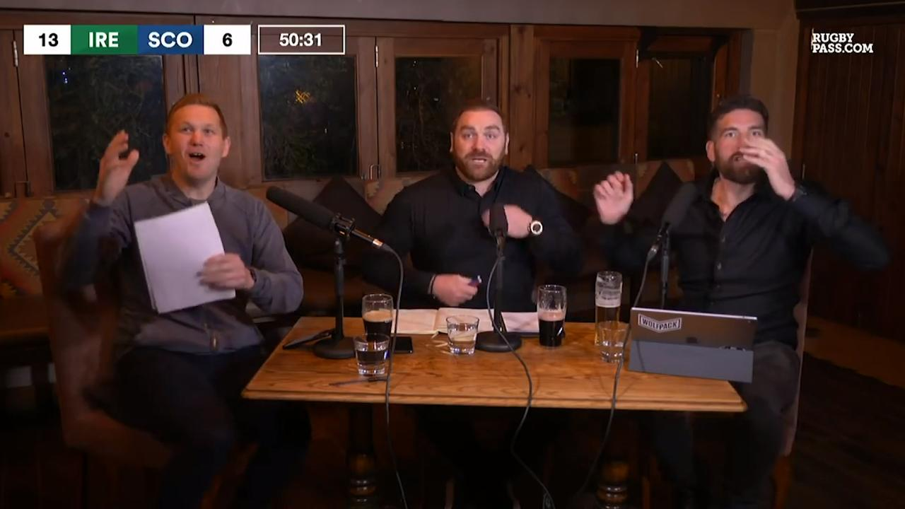 The RugbyPass live reaction to that Stuart Hogg drop || Six Nations 2020