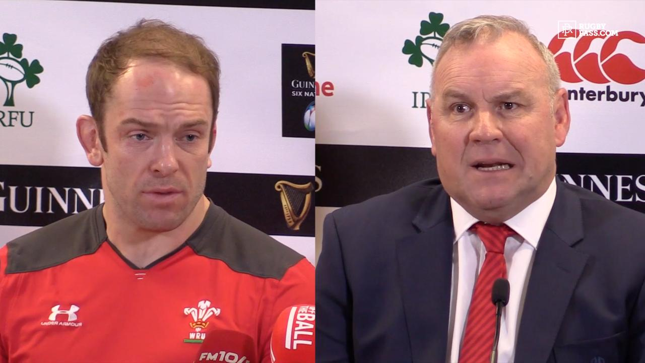 Wales Pivac and Alun Wyn Jones press conference | Ireland vs Wales