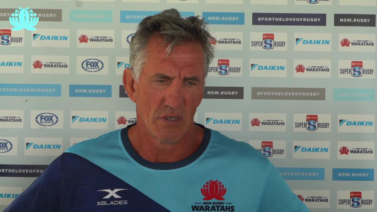 Rob Penney on Waratahs v Rebels