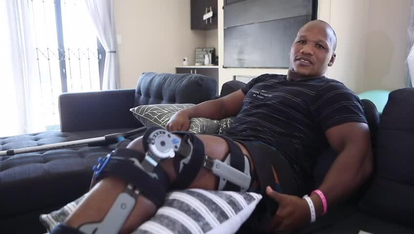 Mbongeni Mbonambi speaks about his injury and surgery