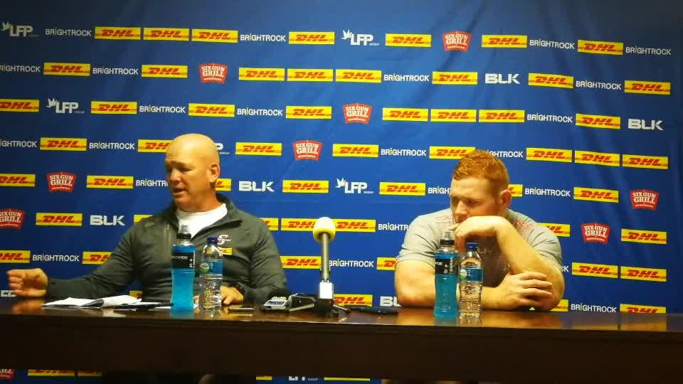 Stormers Coach and Captain discuss Lions v Stormers